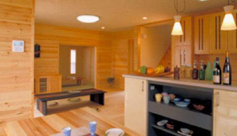 家族のための高性能住宅イメージ